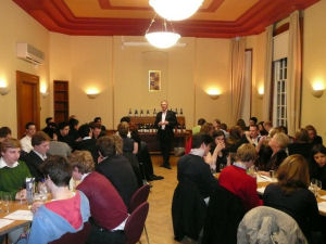 A Burgundy Tasting up in Oxford (Photo by David Leonard)