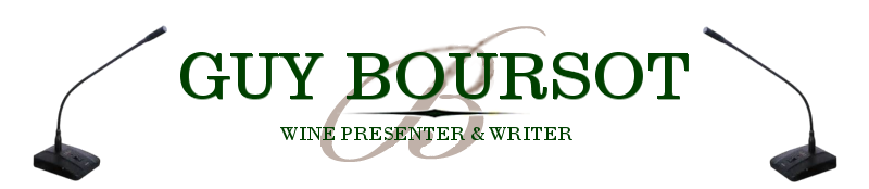 Guy Boursot Professional Wine Presenter & Writer
